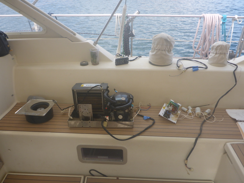 Amel Super Maramu 2000 Air Conditioning Climma Marine Compact 9