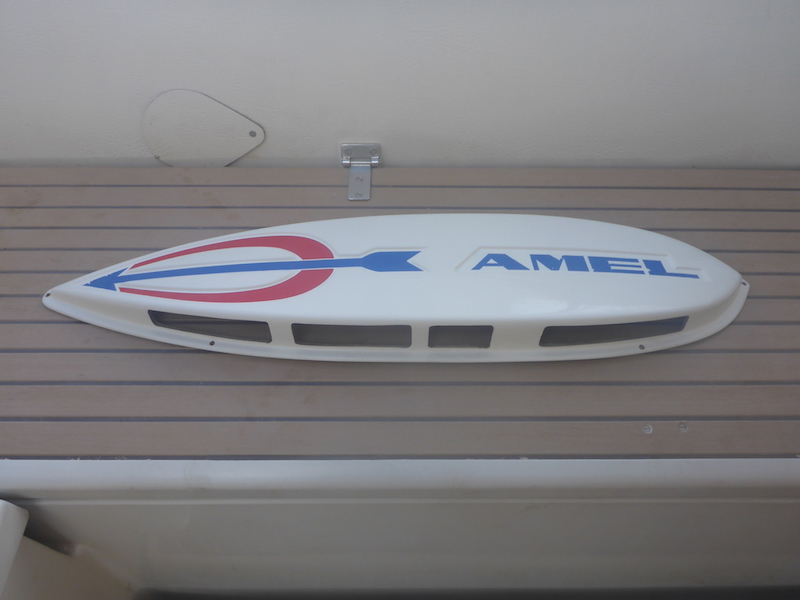 Amel Super Maramu 2000 Engine Room Air Intake